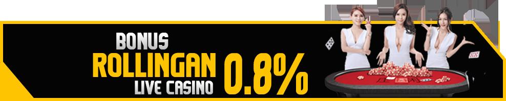 Bonus Rollingan Livecasino