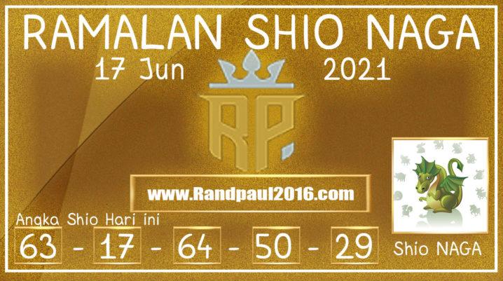 Ramalan Shio Naga Hari ini 17 Jun 2021