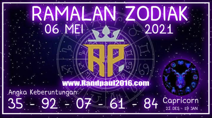 Ramalan Zodiak Capricorn Hari ini 06 Mei 2021 Kamis – Randpaul2016