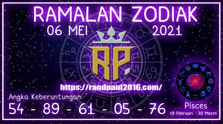 Ramalan Zodiak Pisces Hari ini 06 Mei 2021