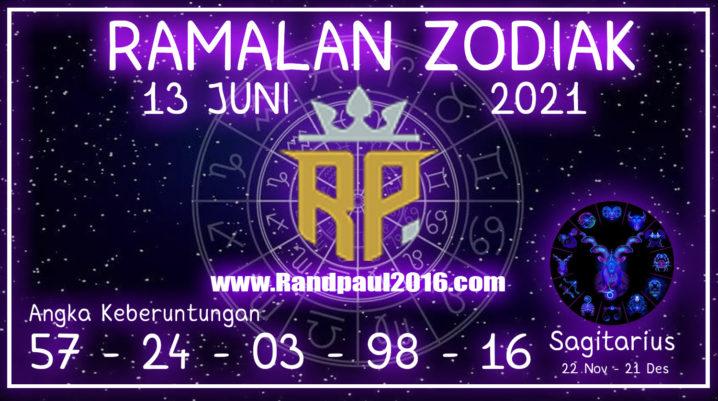 Ramalan Zodiak Sagitarius Hari ini 13 Juni 2021 Minggu – Randpaul2021