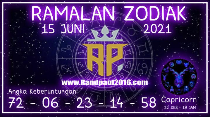 Ramalan Zodiak Capricorn Hari ini 15 Juni 2021 Selasa – Randpaul2021