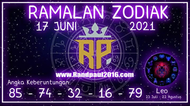 ramalan zodiak leo 17 juni 2021