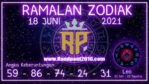 ramalan zodiak leo 18 juni 2021