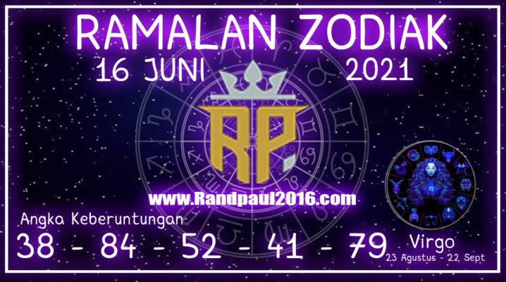 ramalan zodiak virgo 16 juni 2021