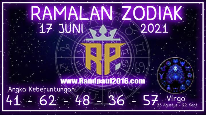 ramalan zodiak virgo 17 juni 2021