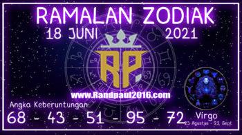 ramalan zodiak virgo 18 juni 2021