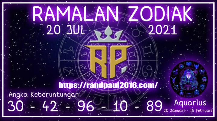 Ramalan Zodiak Aquarius Hari ini 20 Jul 2021