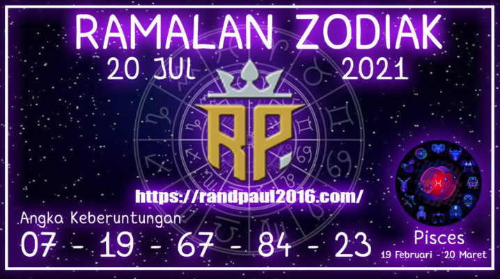 Ramalan Zodiak Pisces Hari ini 20 Jul 2021